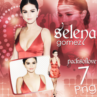 Png pack #17 Selena Gomez by blondeDS