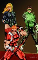 Justice League of America by Blindman-CB