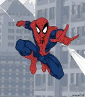 Spiderman Vector by cpricecpa