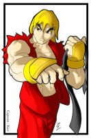 Ken - Capcom by digitalninja