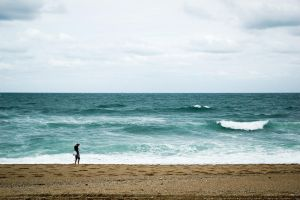 Sand Water and Sky by Tom-Mosack