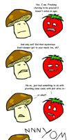 Fruit N00bs: Hungry? by steel-fang
