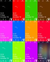 WP7 Metro X Lockscreens by exsess