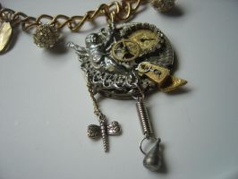 Silver and Brass - Steampunk by skullbaby138