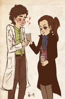 role reversal - I got you some coffee by surrenderdammit