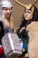 Lady Loki w Thor - By Bond Not Blood by ShinrasFlurry