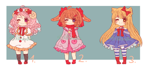 Mini Adoptable Batch [Closed] by Minrii