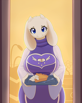 Undertale - Toriel by JoyfulInsanity