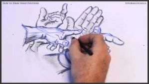 Learn how to draw hand positions 018 by drawingcourse