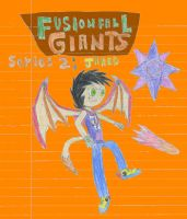 FusionFall: Giants series 2: Jared by ThePurpleHaro