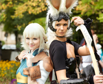 Fran and Penelo ~ at Connichi '14 Germany by N4miine
