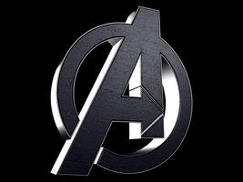 Avengers - Logo Model by GrandeMike