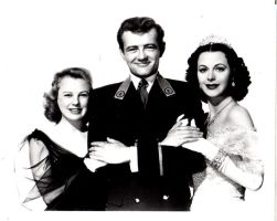 June Allyson,Robert Walker and Hedy by slr1238