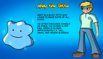 Commission - Andy the Ditto Character Reference by Ryusuta