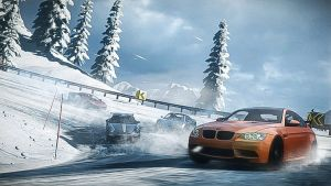 Getting cold ... (Need for Speed: The Run) by GhostedMan