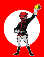 red skull2 by AlanSchell