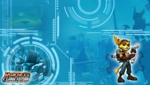 Ratchet Clank PSP Wallpaper by RatchetMario