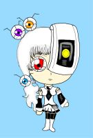 Chibi Glados by Obscura326