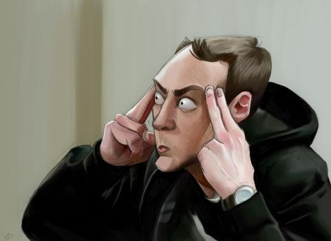 Sheldon Cooper by obeythekiwi