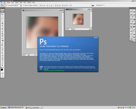Adobe Photoshop CS3 Splash by Zero27