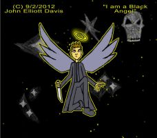 I am a Black Angel by LittleGreenGamer