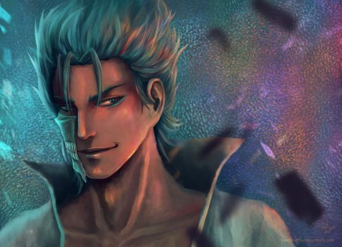 Grimmjow azaza by J-Melmoth