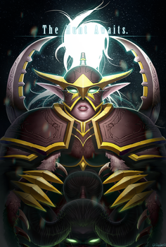 Maiev Shadowsong by Reislet