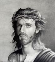 Portrait of Christ by R-Valle