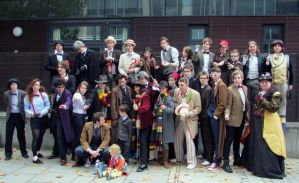 All The Doctors! (MCM Expo October 2013) by kathXD123