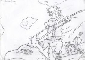 Old Naruto Pic by darkwolftamer12