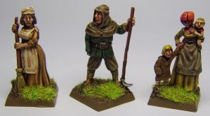 MORDHEIM Townsfolk by FraterSINISTER