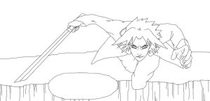 FNP:sasuke-lineart by Separate-cell