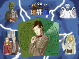 Doctor Who - Series 5 by MST3Claye