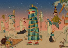 revenge of the snowmen by serhatalbamya