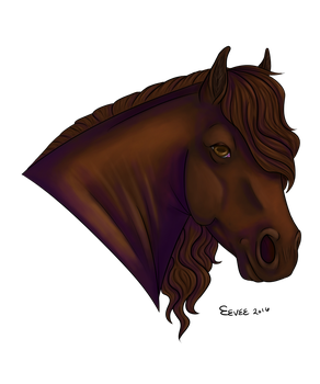 Horse based off of flying-soap by Rorocosblast14