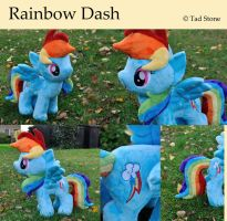 Rainbow Dash - Plush by TadStone