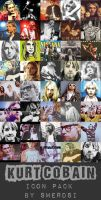 Kurt Cobain ICON PACKAGE by Swerdsi