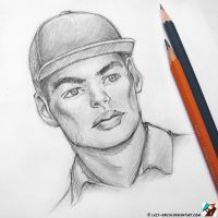 Portrait of Max Verstappen #5.1 by lazy-brush