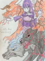 Cats And Wolves by Erza-Scarlet2000