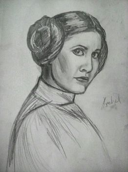 Princess Leia by LightheartedLoki