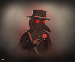 Rose Plague Doctor by Twisted4000