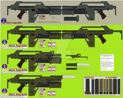 M41A PULSE RIFLE v1.1 by Munners