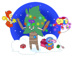 fakemon xmas by EpicMais