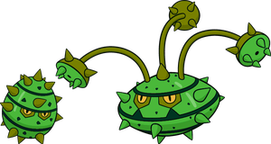 Alternate Shinies: Ferroseed and Ferrothorn