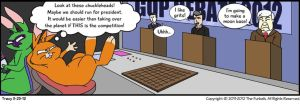 Furballed Comics: Chuckleheads by twiggy-trace