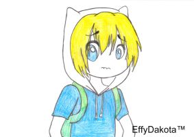 Finn The Human NEW by MyNameIsEffyDakota