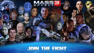Mass Effect 3 - Join the Fight by Camuska