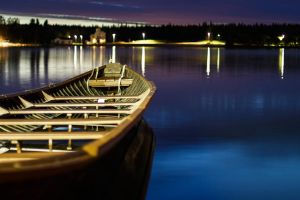 Lonely boat by imattila
