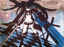 Black Rock Shooter by emogirl150