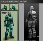 Renegades-LostZone Renegade Soldier Concept by NRG by NRGart7